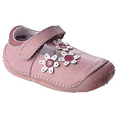 Hush Puppies - Pink leather 'Ruby' mary janes