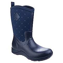 Muck Boot - Navy 'Arctic Weekend' wellington boots