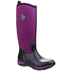 Muck Boot - Maroon 'Arctic Adventure' wellington boots