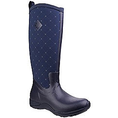 Muck Boot - Navy 'Arctic Adventure' wellington boots