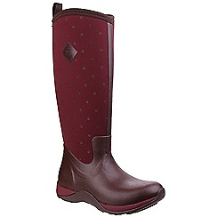 Muck Boot - Dark red 'Arctic Adventure' wellington boots
