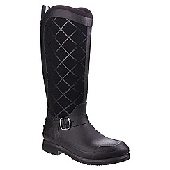Muck Boot - Black 'Pacy II' wellington boots