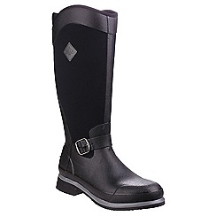 Muck Boot - Black 'Reign Tall' wellington boots