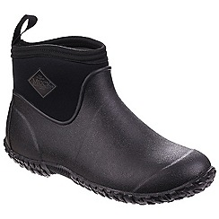 Muck Boot - Black 'Muckmaster II' ankle wellington boots