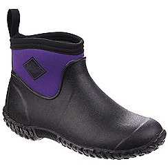 Muck Boot - Dark purple 'Muckmaster II' ankle wellington boots