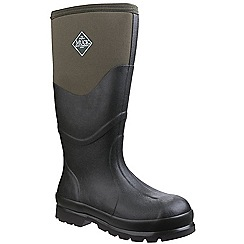 Muck Boot - Dark green 'Chore 2K' wellington boots