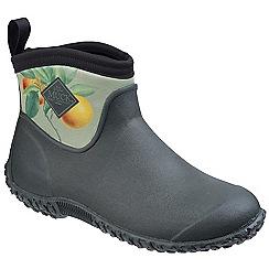 Muck Boot - Dark green 'Muckster II Ankle RHS Print' shoe boots