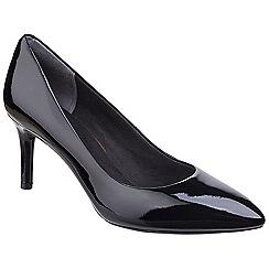 Rockport - Black patent patent 'Total Motion Plain Pump' court shoes