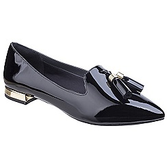 Rockport - Black patent leather 'Total Motion Zuly' loafers