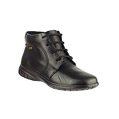 Cotswold - Black leather 'Bibury' ankle boots