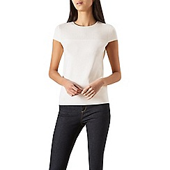 Hobbs - Ivory 'Tamsin' knit top