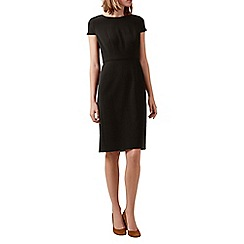 Hobbs - Black 'Celina' sleeved dress
