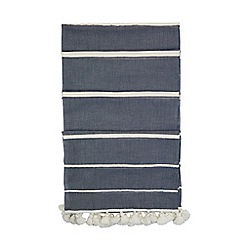 Hobbs - Blue 'Grace' chambray scarf