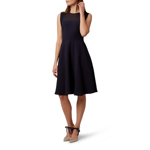 Hobbs Navy (Blue) 'gillian' Dress