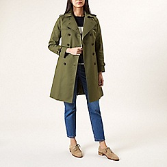 Hobbs - Dark green 'Saskia' trench
