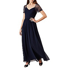 Hobbs - Navy 'Sandra' maxi dress