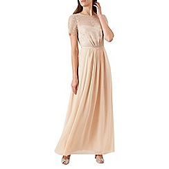 Hobbs - Pale pink 'Tessa' maxi dress