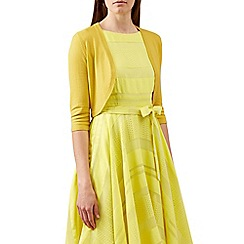 Hobbs - Yellow 'Carrie' bolero
