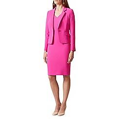 Hobbs - Bright pink 'Confetti' jacket
