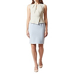Hobbs - Pale blue 'Carrie' dress