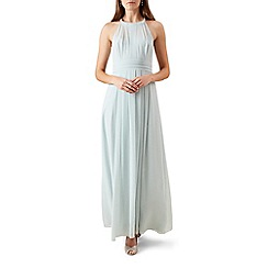 Hobbs - Pale green 'Alexis' maxi dress
