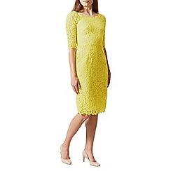 Hobbs - Yellow 'Miller' dress