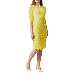 Hobbs Yellow 'miller' Dress