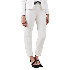Hobbs - Ivory 'May' trousers
