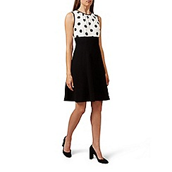 Hobbs - Black 'Sun spot' dress