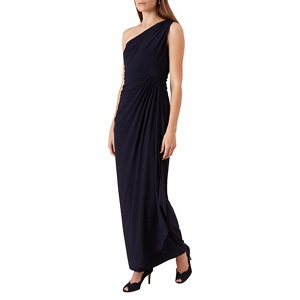 Plus Size Bridesmaid Dresses: Hobbs Navy (Blue) 'neve' Maxi Dress