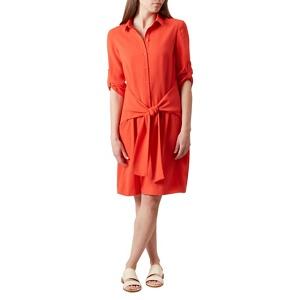 Hobbs Bright Orange 'savannah' Dress