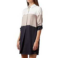 Hobbs - Navy 'Marci' tunic dress