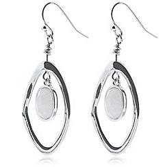Hobbs - Silver 'Dhalia' earrings