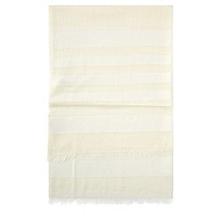 Hobbs - Ivory 'Lily' scarf