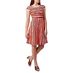 Hobbs - Bright orange 'Katerina' dress