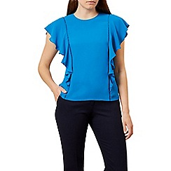 Hobbs - Bright blue 'Ivy' top
