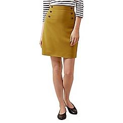Hobbs - Mustard 'Eimear' skirt