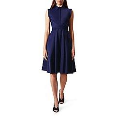 Hobbs - Navy 'Gables' dress