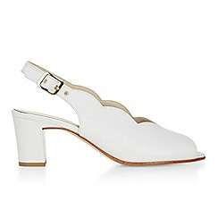 Hobbs - White 'Alanna' sandals