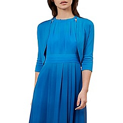 Hobbs - Bright blue 'Carrie' bolero
