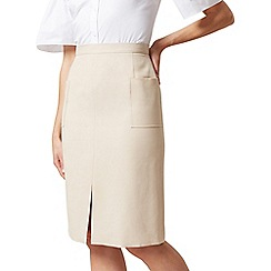 Hobbs - Natural 'Daisy' skirt