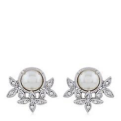 Hobbs - Silver 'Ophelia' stud earrings