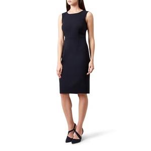Hobbs Blue 'Catherine' knee length pencil dress
