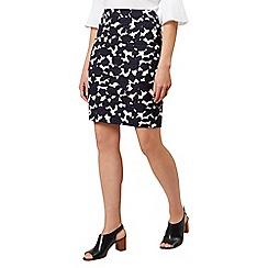 Hobbs - Navy 'Freya' skirt