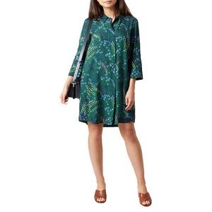 Hobbs Green 'Marci' knee length shirt dress