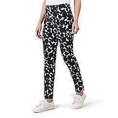 Hobbs - Navy 'Mallory' capri trousers
