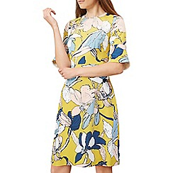 Hobbs - Yellow 'Charlie' dress