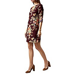 Hobbs - Wine 'Chrissie' dress