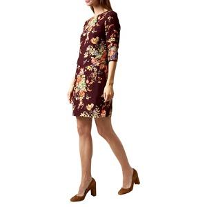 Hobbs Wine (Red) 'chrissie' Dress