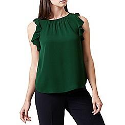 Hobbs - Dark green 'Frances' top